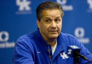 John Calipari is the highest earning men's college basketball coach at $5.8 million a year.