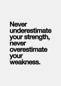 strength:weakness
