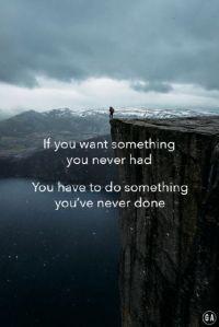 want something do something