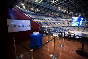 The Chase Club within Amalie Arena offers a luxury seating experience that will ban all opposing team apparel during 2015 NHL Playoffs.
