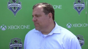 Garth Lagerway, the Seattle Sounders newest General Manager and President of Soccer.