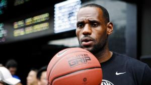 Lebron James is one of several big stars that Nike has large brand endorsement deals with.