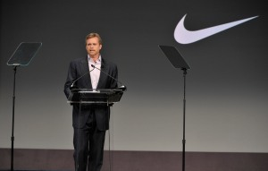 Mark Parker, the CEO of Nike, is extremely excited about the new jersey deal with the NBA.