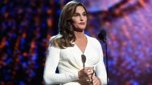 Caitlyn Jenner, formerly known as Bruce, was the 1976 Olympic Decathlon World Champion won the Arthur Ashe Award for Courage.