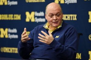 University of Michigan Athletic Director Jim Hackett opted to partner with Nike over Adidas despite a higher offer made from Adidas.