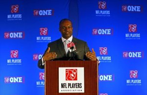 The NFLPA CEO DeMaurice Smith will go forward in defending Tom Brady in appealing the decision against Roger Goodell.