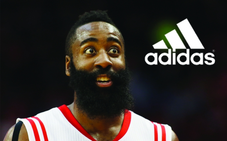 adidas loves the beard rockets harden inks 200 million endorsement deal ben slingerland. Black Bedroom Furniture Sets. Home Design Ideas