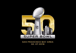 Super Bowl 50 will be the first Super Bowl logo not to have roman numerals in it. It will also be played in the league's newest, most technologically advanced venue, Levi's Stadium in Santa Clara, CA.