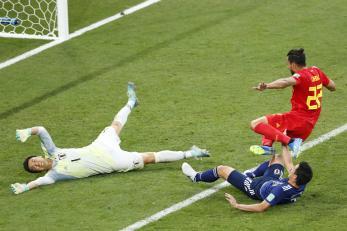 Belgium Counter Attack Goal